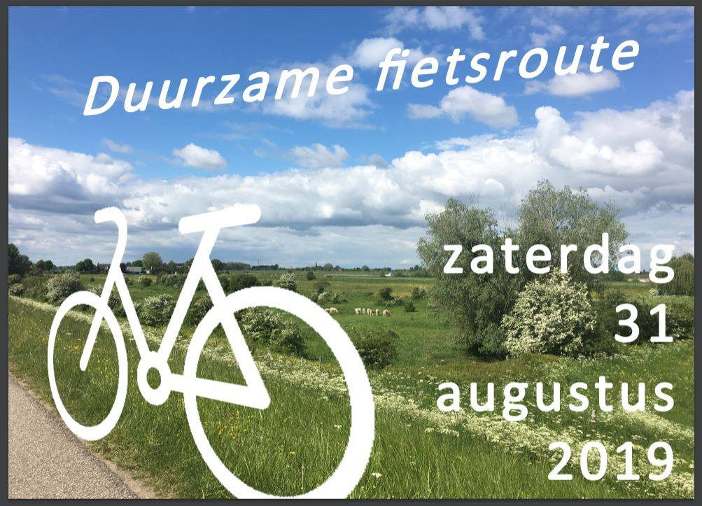 Afb Duurzame Fietsroute 31.08.19